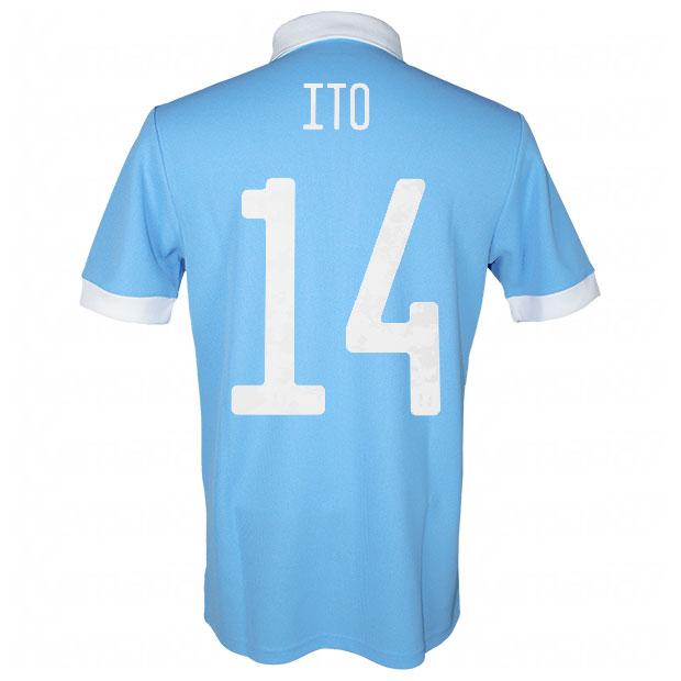 サッカー日本代表 100周年アニバーサリー オーセンティック ユニフォーム 半袖  ekq79-ito