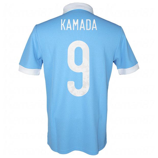 サッカー日本代表 100周年アニバーサリー オーセンティック ユニフォーム 半袖  ekq79-kamada