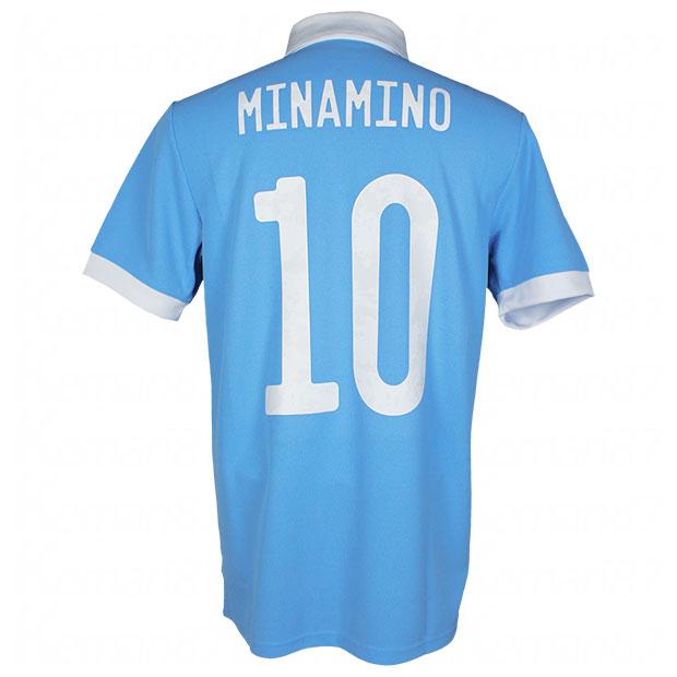 サッカー日本代表 100周年アニバーサリー オーセンティック ユニフォーム 半袖 南野拓実 ekq79-minamino