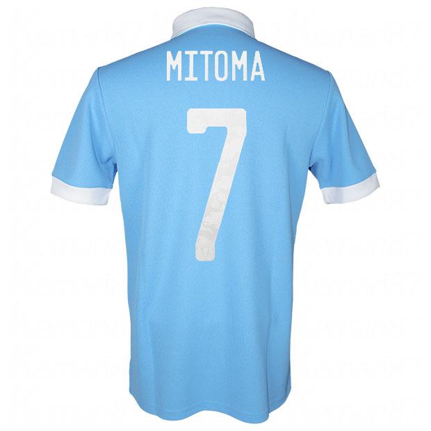 サッカー日本代表 100周年アニバーサリー オーセンティック ユニフォーム 半袖  ekq79-mitoma