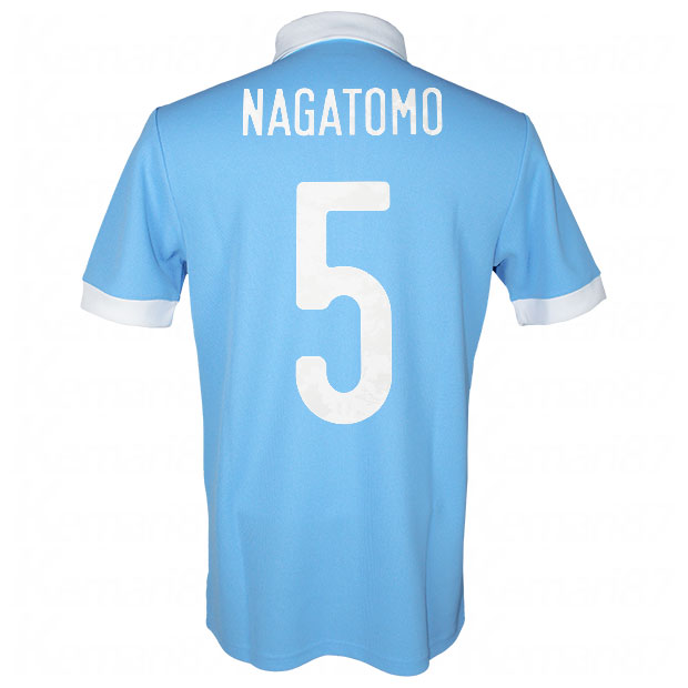 サッカー日本代表 100周年アニバーサリー オーセンティック ユニフォーム 半袖  ekq79-nagatomo