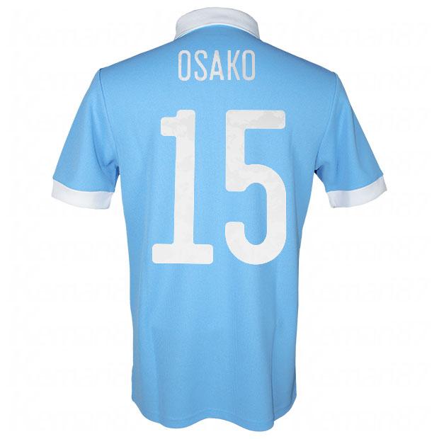 サッカー日本代表 100周年アニバーサリー オーセンティック ユニフォーム 半袖  ekq79-osako