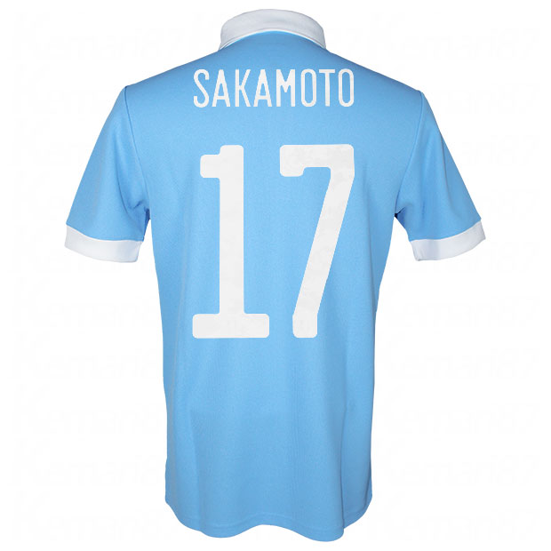 サッカー日本代表 100周年アニバーサリー オーセンティック ユニフォーム 半袖  ekq79-sakamoto