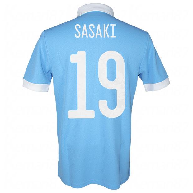 サッカー日本代表 100周年アニバーサリー オーセンティック ユニフォーム 半袖  ekq79-sasaki