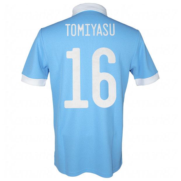サッカー日本代表 100周年アニバーサリー オーセンティック ユニフォーム 半袖  ekq79-tomiyasu