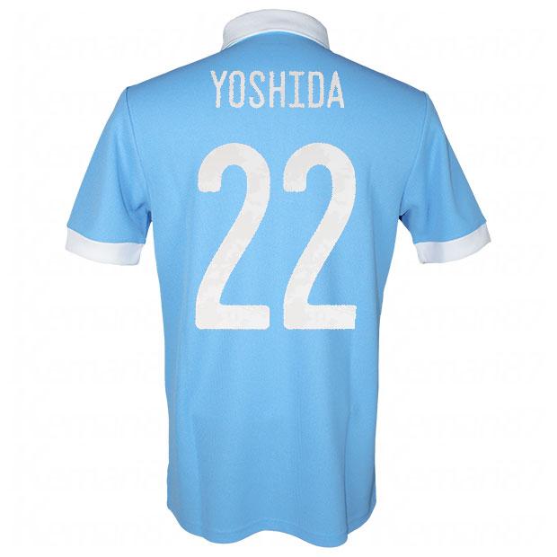 サッカー日本代表 100周年アニバーサリー オーセンティック ユニフォーム 半袖  ekq79-yoshida