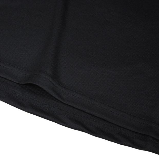 BROAD LINE LOGO 長袖プラクティスシャツ  f1811005-blkwht ブラック×ホワイト