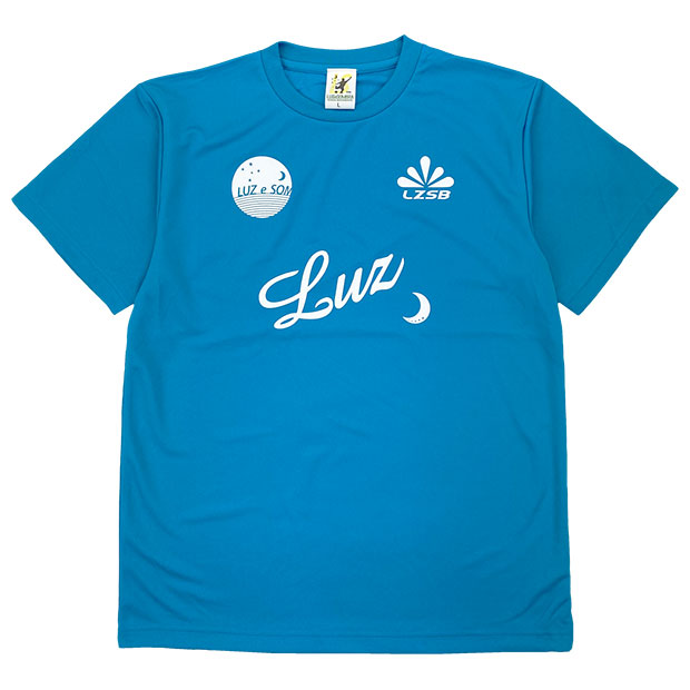 スタンダード 半袖プラクティスシャツ  f1811023-tblwht Tブルー×ホワイト