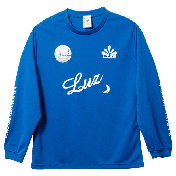 DOUBLE STANDARD 長袖プラクティスシャツ  f1811025-rbluwh Rブルー×ホワイト