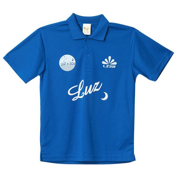 スタンダード半袖ポロシャツ  f1811027-rbluwh Rブルー