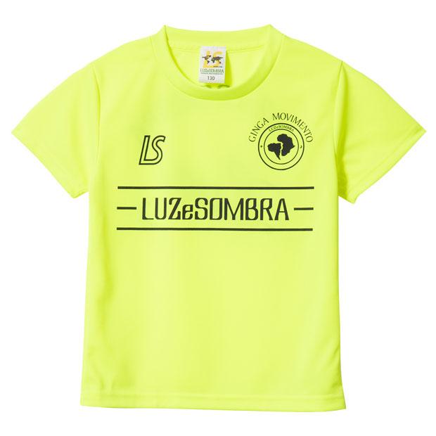 ジュニア ラインピッチ 半袖プラクティスシャツ  f1821022-nyelbk Nイエロー
