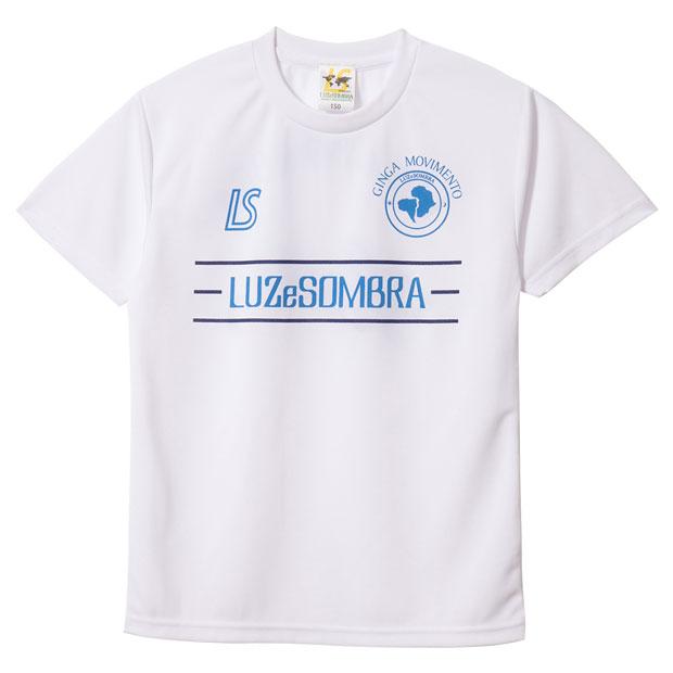 ジュニア ラインピッチ 半袖プラクティスシャツ  f1821022-whtabl ホワイト