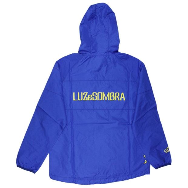ジュニア FLAT LINE ハーフZIPピステトップ  f1821109-blu ブルー
