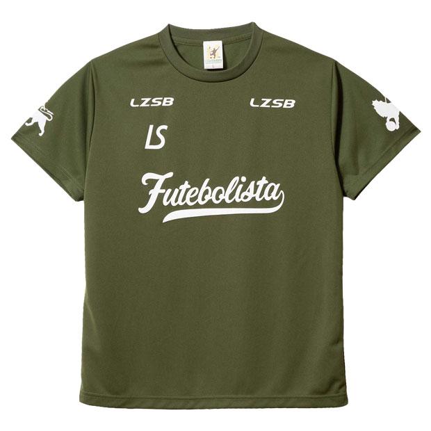 フッチボル ザイオン 半袖プラクティスシャツ  f1911016-olv オリーブ