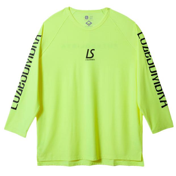スーパーフライ2 長袖プラクティスシャツ  f2011008-neonyl Nイエロー