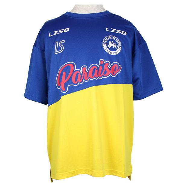 フッチボルパライーソクラブ 半袖プラクティスシャツ  f2011012-bluyel ブルー×イエロー