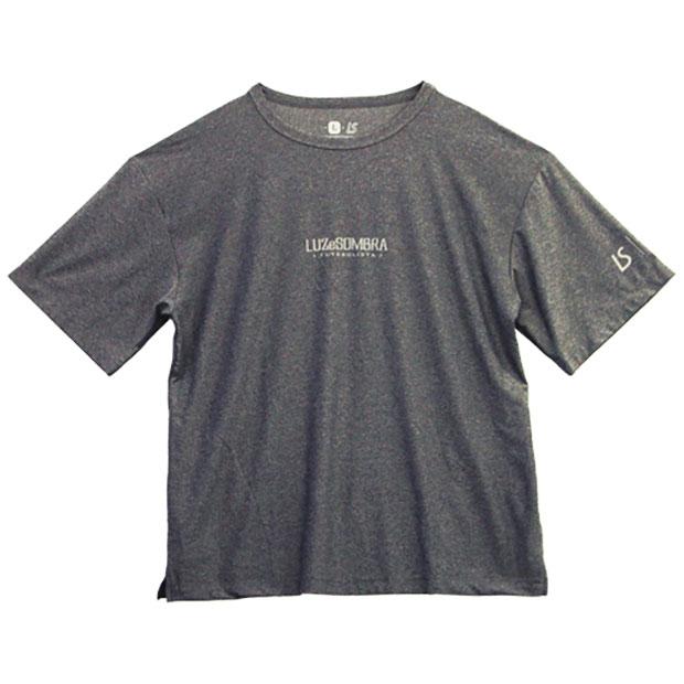 TWN ビッグシルエット半袖プラTシャツ  f2011026-mokdgy 杢Dグレー