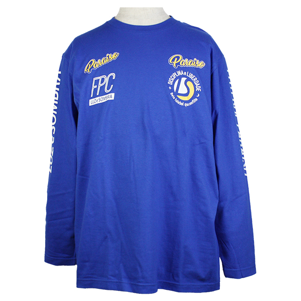 FUTEBOL PARAISO CLUBE 長袖Tシャツ  f2012015-blu ブルー