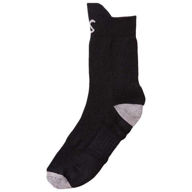 サポートラウンドショートソックス  f2014910-blk ブラック