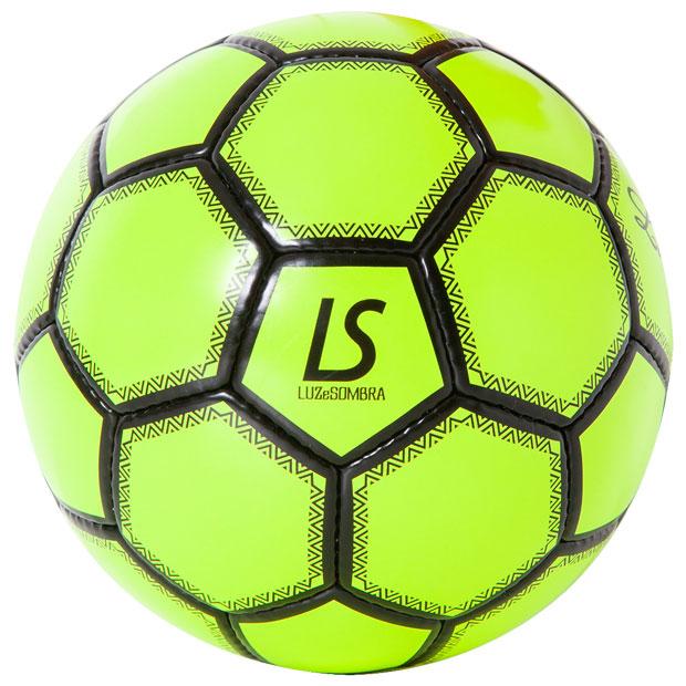 LUZ フットサルボール  f2014918-neonyl Nイエロー