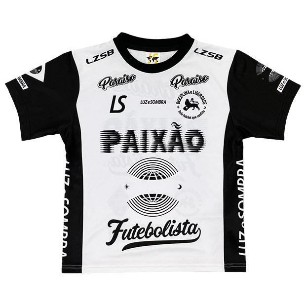 ジュニア PX 半袖プラクティスシャツ  f2021027-wbk ホワイト×ブラック
