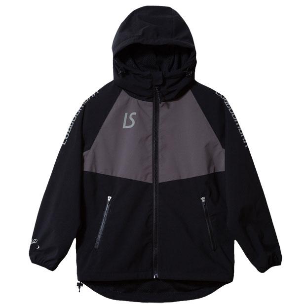 ジュニア ストレッチタフタメッシュジャケット  f2021106-blk ブラック