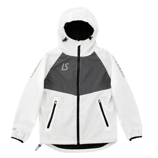 ジュニア STANDARD ストレッチタフタメッシュジャケット  f2021106-wht ホワイト