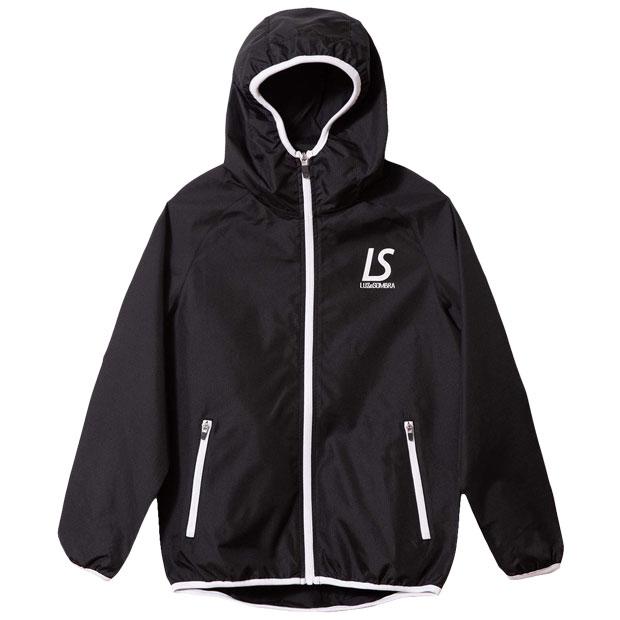 ジュニア コンフリトロゴ フルZIPピステジャケット  f2021120-blk ブラック