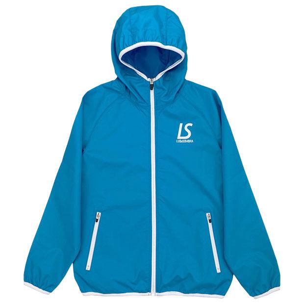 ジュニア コンフリトロゴ フルZIPピステジャケット  f2021120-tblu ターコイズブルー