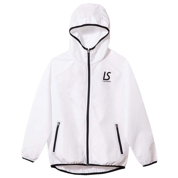 ジュニア コンフリトロゴ フルZIPピステジャケット  f2021120-wht ホワイト