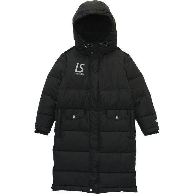 ジュニア ベンチコート  f2021215-blk ブラック