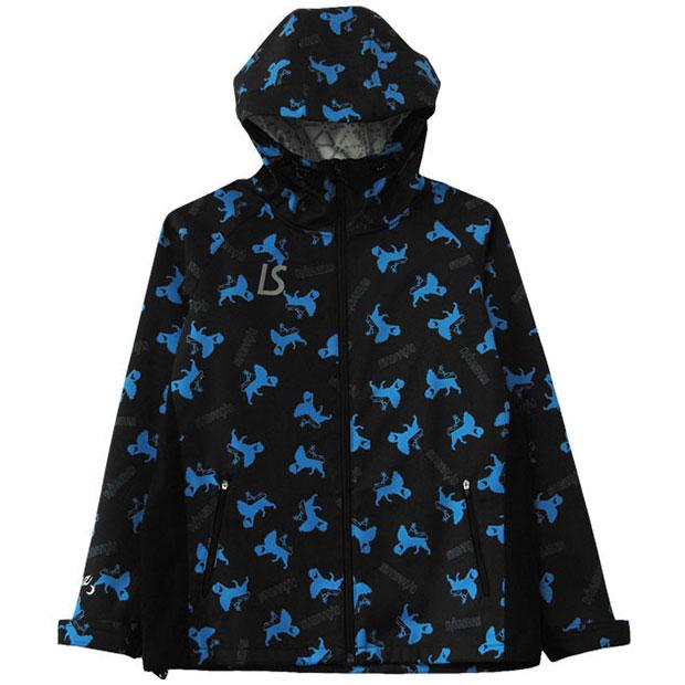 ジュニア IMN ライトムーブジャケット  f2022210-blk ブラック