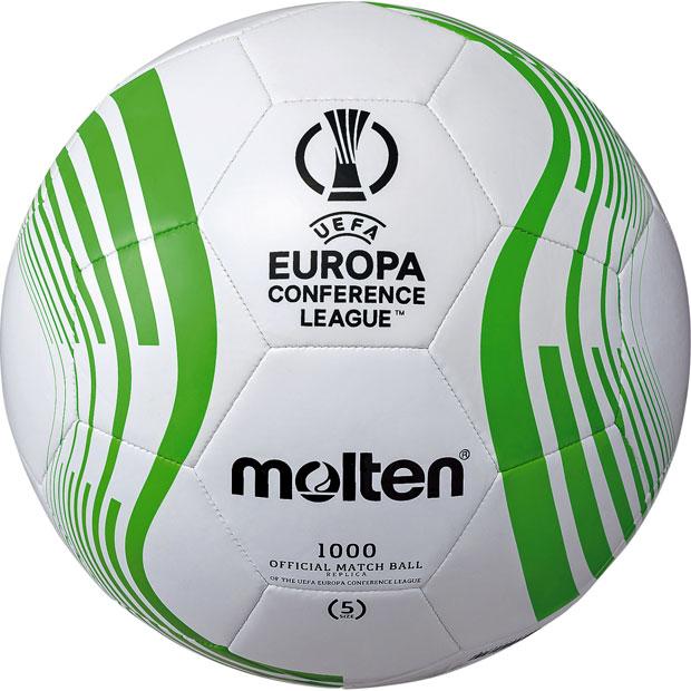 UEFAヨーロッパカンファレンスリーグ 2021-2022 公式試合球レプリカ  f5c1000