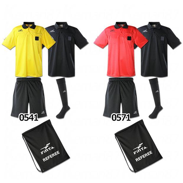 カラー半袖レフリー4点セット  ft5197