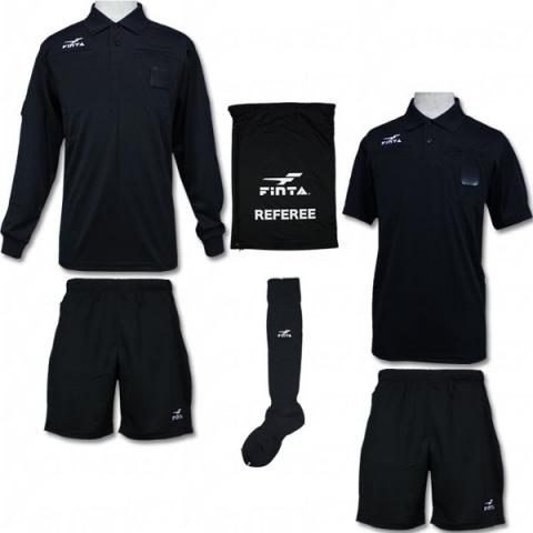レフリー4点セット 【FINTA|フィンタ】サッカーフットサルウェアーft6511  ft6511
