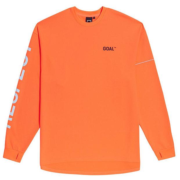 RESPECT 長袖Tシャツ  g19fmm1ls01-org オレンジ
