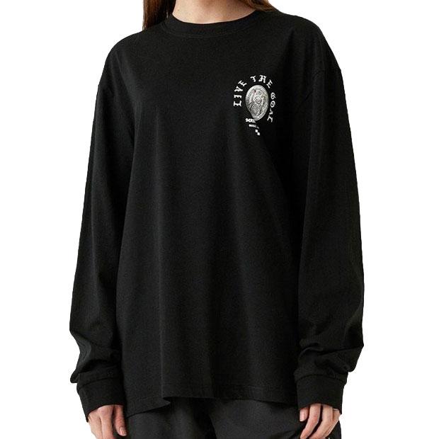 マッドキャットスFC コイングラフィック 長袖Tシャツ  g20muc1tl03-blk ブラック