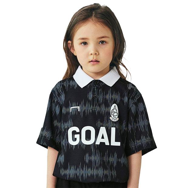 ジュニア PULSE 半袖ゲームシャツ  g20skm1gs01-blk ブラック