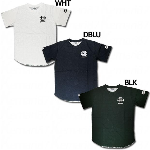 GD 迷彩アシンメトリービッグシルエット半袖Tシャツ  gd005