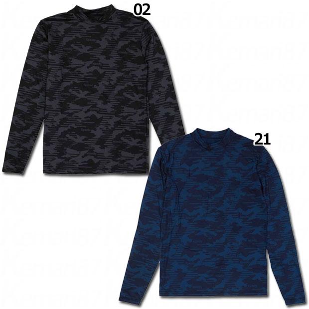 裏起毛迷彩インナーシャツ  ge-0602