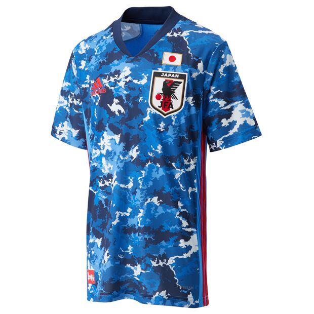 サッカー日本代表 2020 ホーム レプリカ ユニフォーム 半袖 KIDS  gem06-ed7345