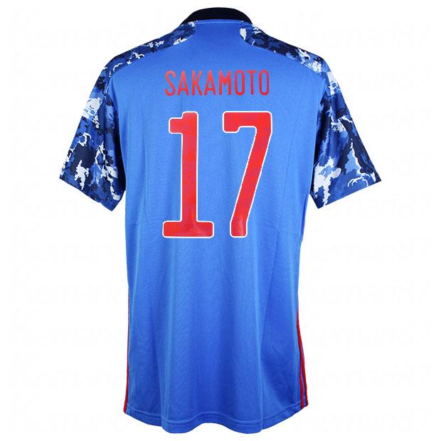 サッカー日本代表 2020 ホーム レプリカ ユニフォーム 半袖 ed7350  gem11-17-sakamoto