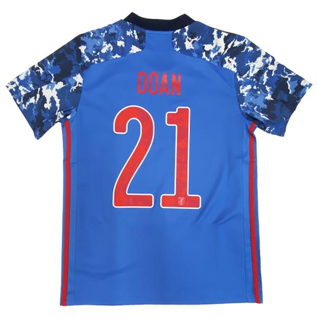 サッカー日本代表 2020 ホーム レプリカ ユニフォーム 半袖  gem11-21-doan ed7350