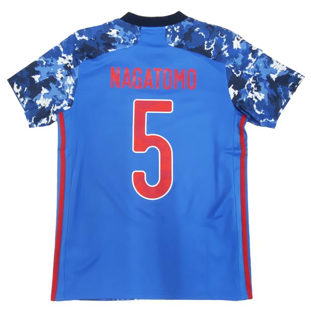 サッカー日本代表 2020 ホーム レプリカ ユニフォーム 半袖  gem11-5-nagatomo ed7350