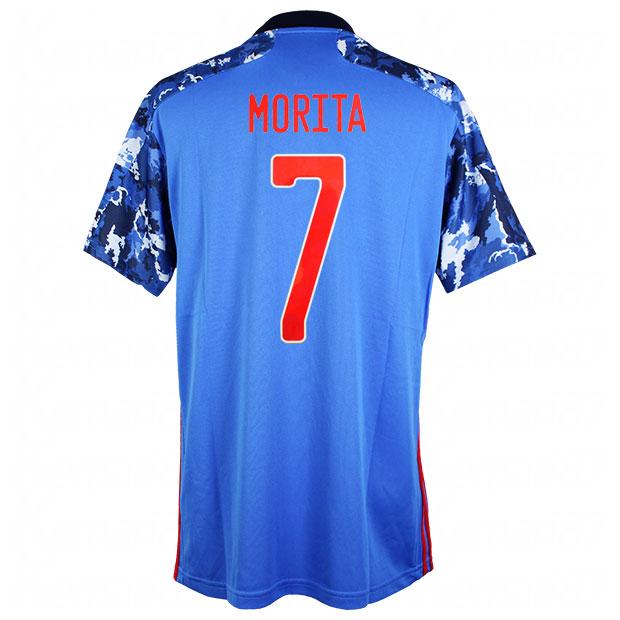 サッカー日本代表 2020 ホーム レプリカ ユニフォーム 半袖 ed7350  gem11-7-morita