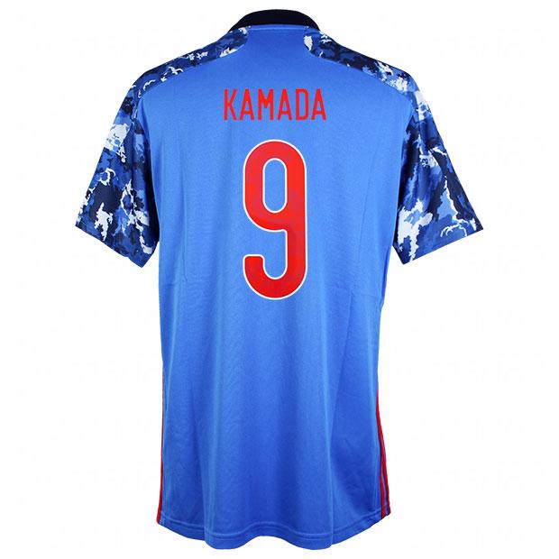 サッカー日本代表 2020 ホーム レプリカ ユニフォーム 半袖 ed7350 9.鎌田大地 gem11-9-kamada