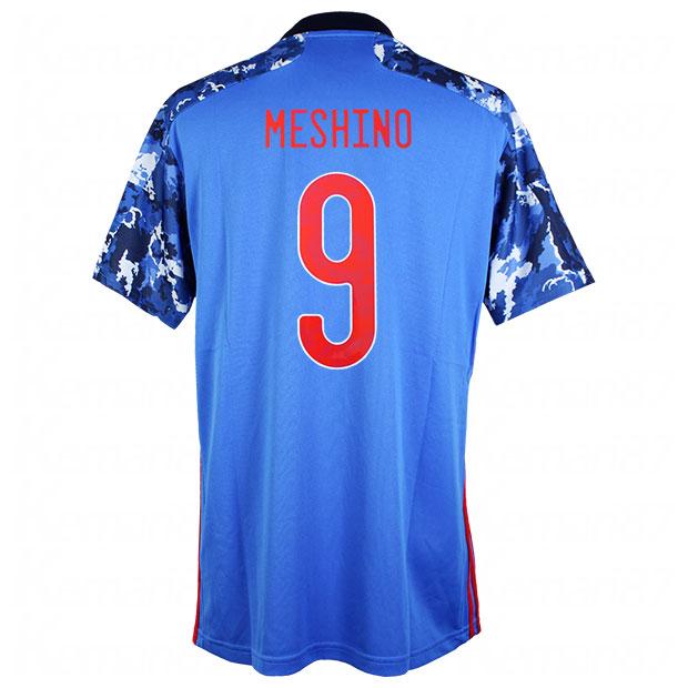 サッカー日本代表 2020 ホーム レプリカ ユニフォーム 半袖 ed7350 9.食野亮太郎 gem11-9-meshino