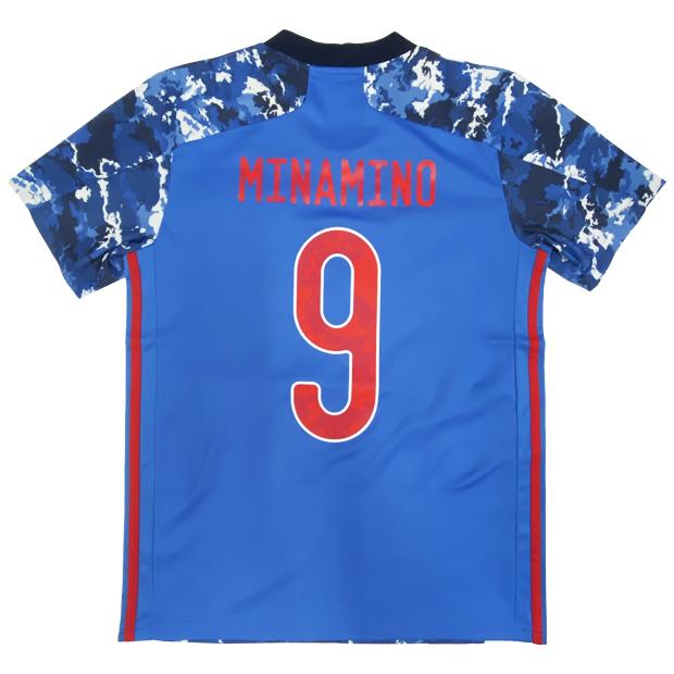 サッカー日本代表 2020 ホーム レプリカ ユニフォーム 半袖 ed7350 9.南野拓実 gem11-9-minamino