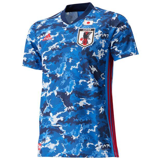 サッカー日本代表 2020 ホーム レプリカ ユニフォーム 半袖  gem11-ed7350
