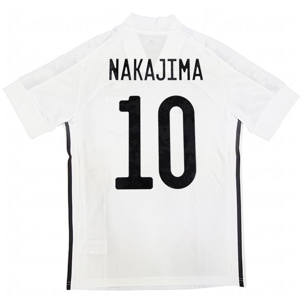 サッカー日本代表 2020 アウェイ レプリカ ユニフォーム 半袖 ed7352  gem13-10-nakajima
